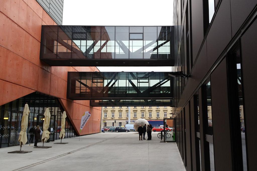 Theater Neubau in Pilsen.