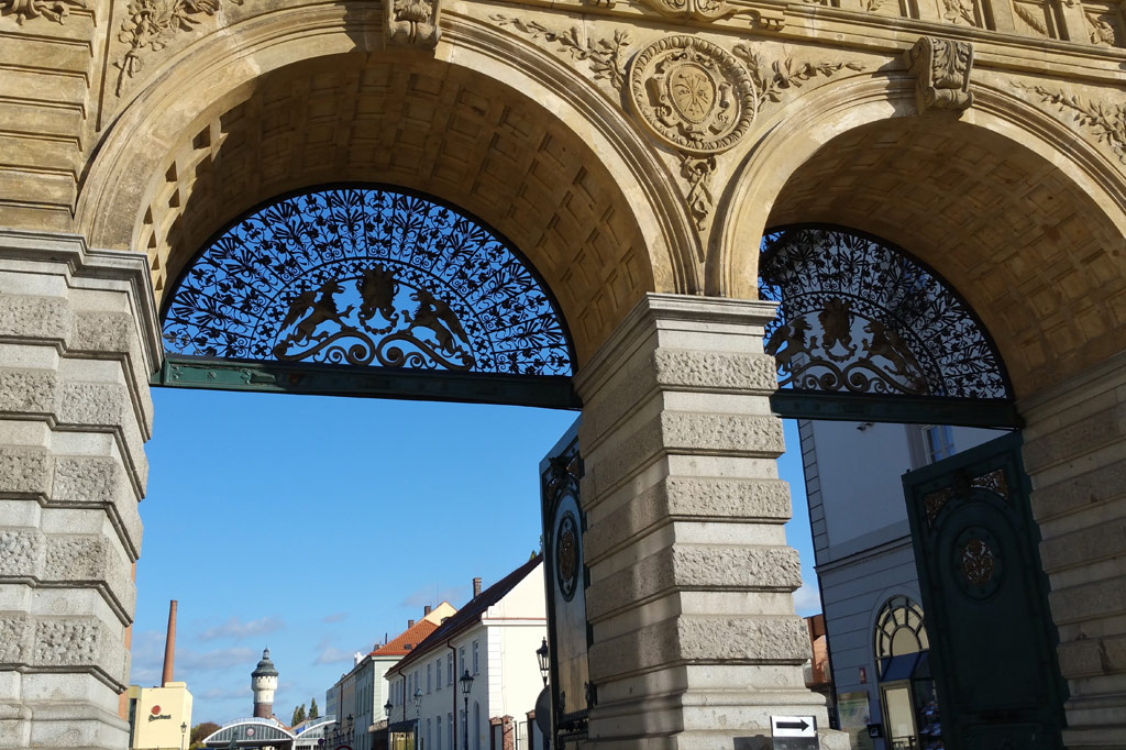 Die Kulturhauptstadt Plisen besitzt tolle Architektur.