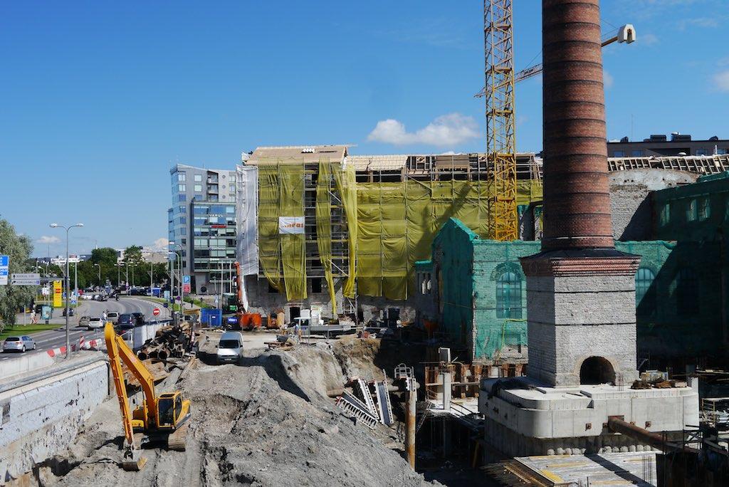 Baustelle im Rotermann Viertel