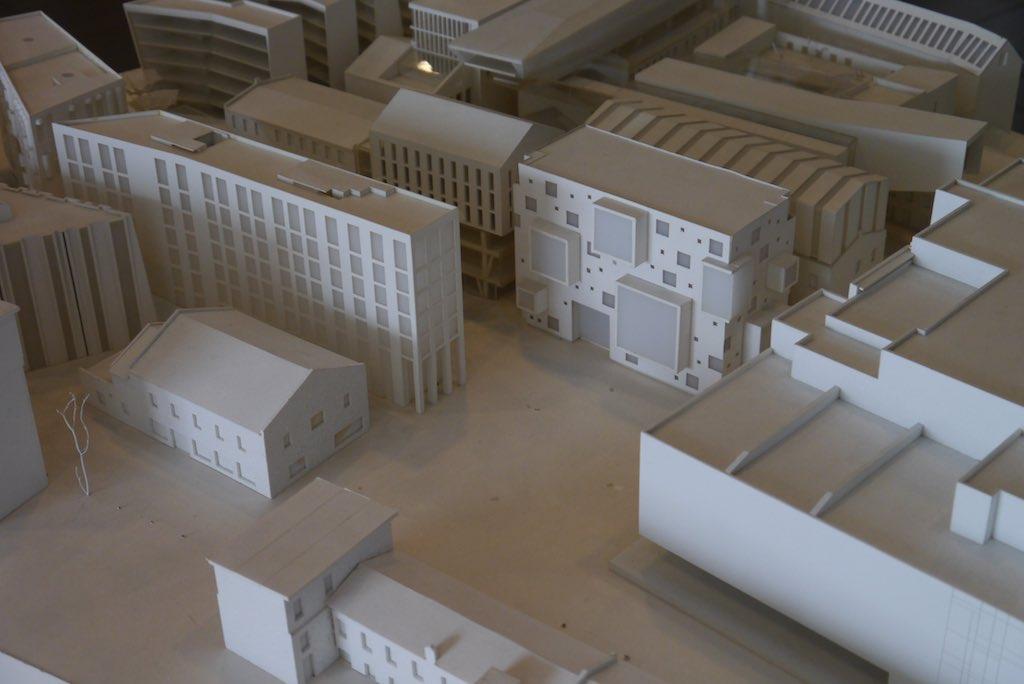 Modell des Rotermann Viertel