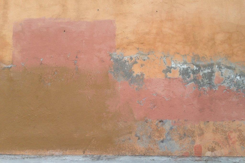 Eine Wand im Monti Viertel