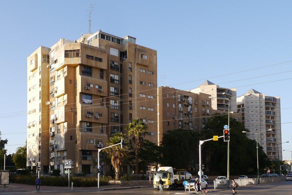 Straßenkreuzung in Beer Sheva