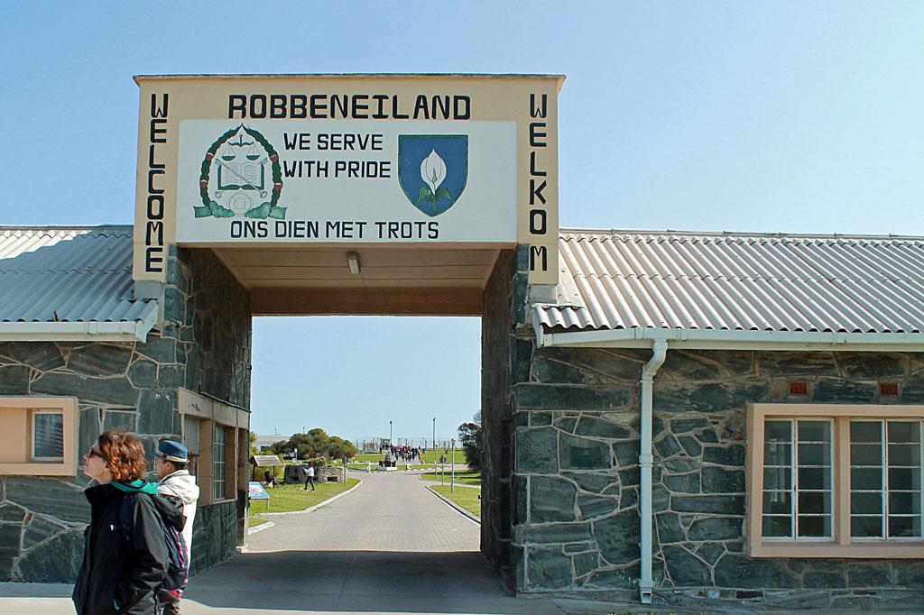 Robben-Island, Hafentor
