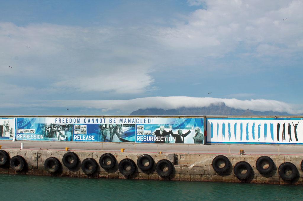 Robben-Island,-Hafenanleger