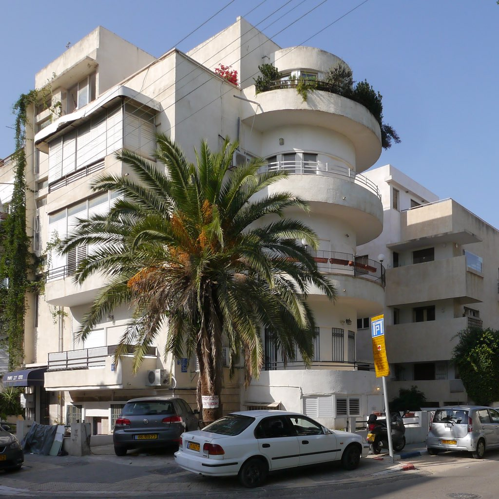 Bauhaus Tel Aviv Weiße Stadt Sirenen Heuler