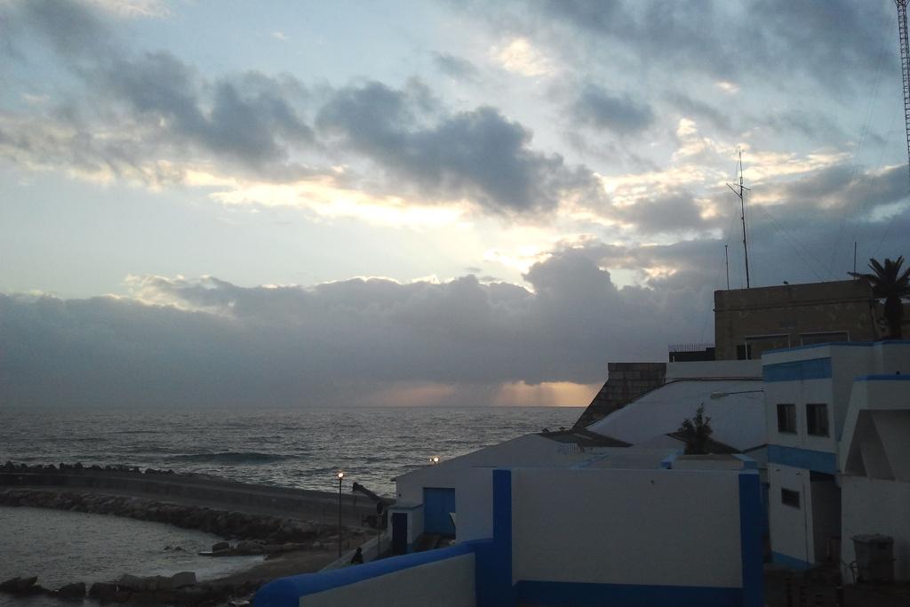Abendstimmung in Ericeira. Königs-Exil-Fluchtstätte, Surfer-Hotspot, portugiesischer Sehnsuchtsort und Atlantik-Perle.
