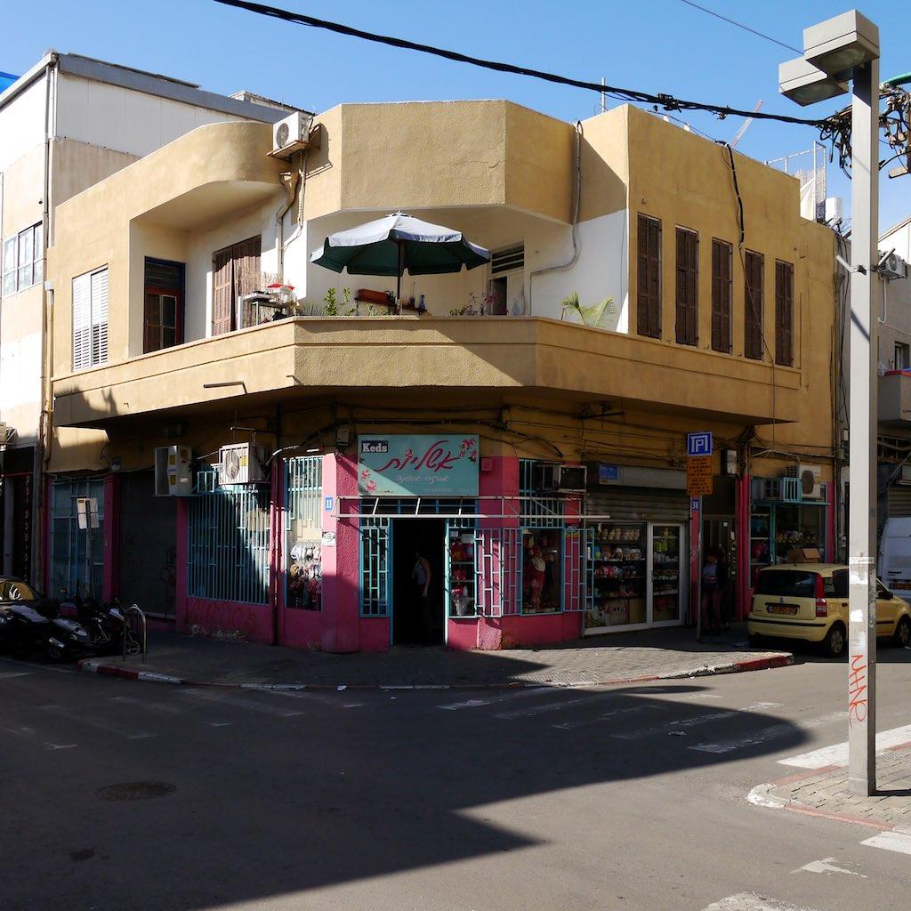 Eckhaus in Tel Aviv.