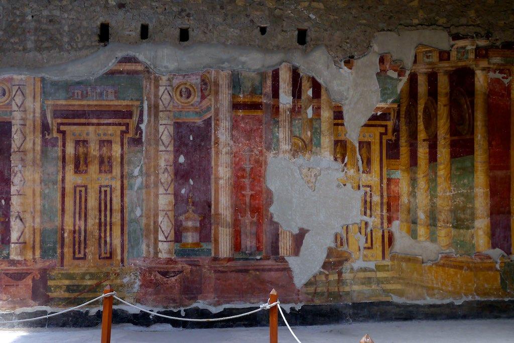 Villa Oplontis, römische Wandmalerei