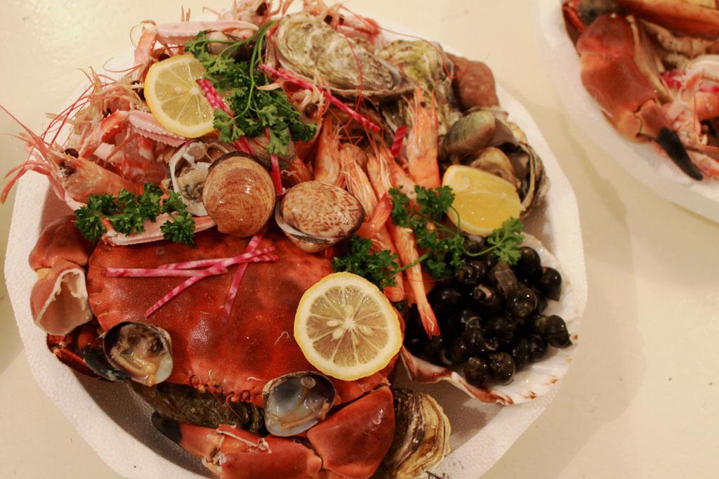 Quel bonheur: Kulinarische Meeresfrüchteplatte à la Ouessant