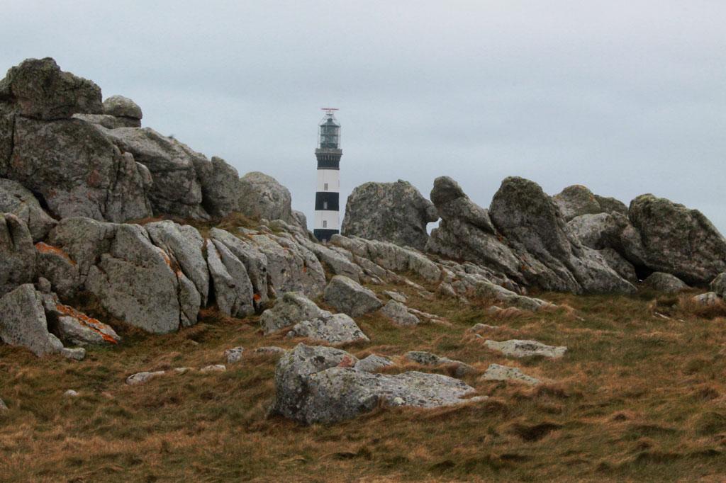 Der Phare du Creac'h, hellster Leuchtturm auf Ouessant und einer der größten obendrein