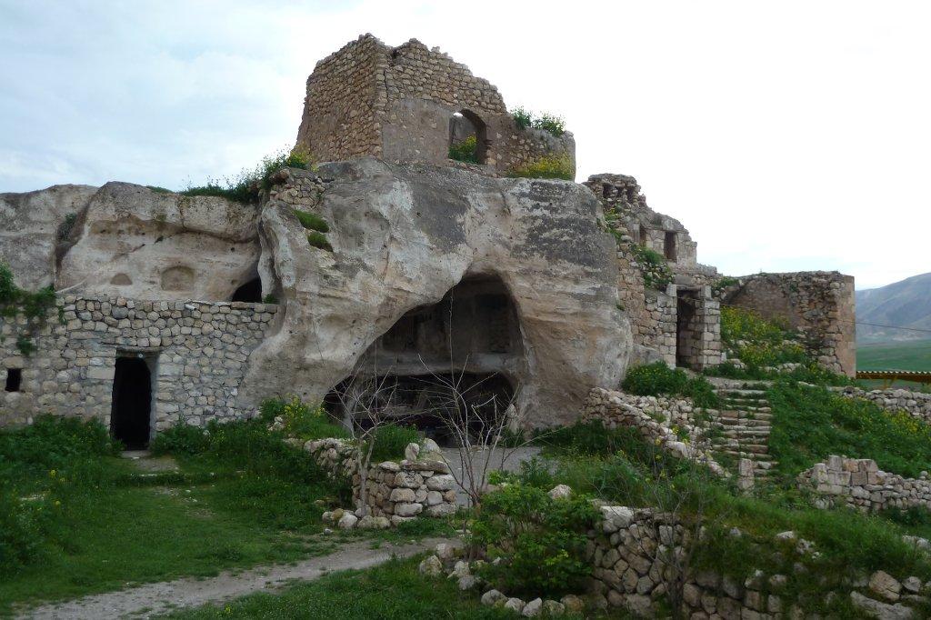 Bis in die 1970er Jahre hinein wurden die Höhlen noch bewohnt.