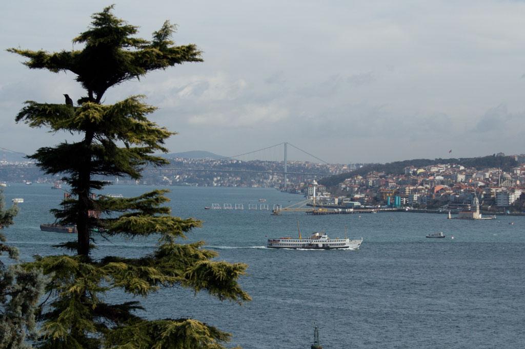 Türkei: Blick über den Bosporus auf die asiatische Seite von Istanbul