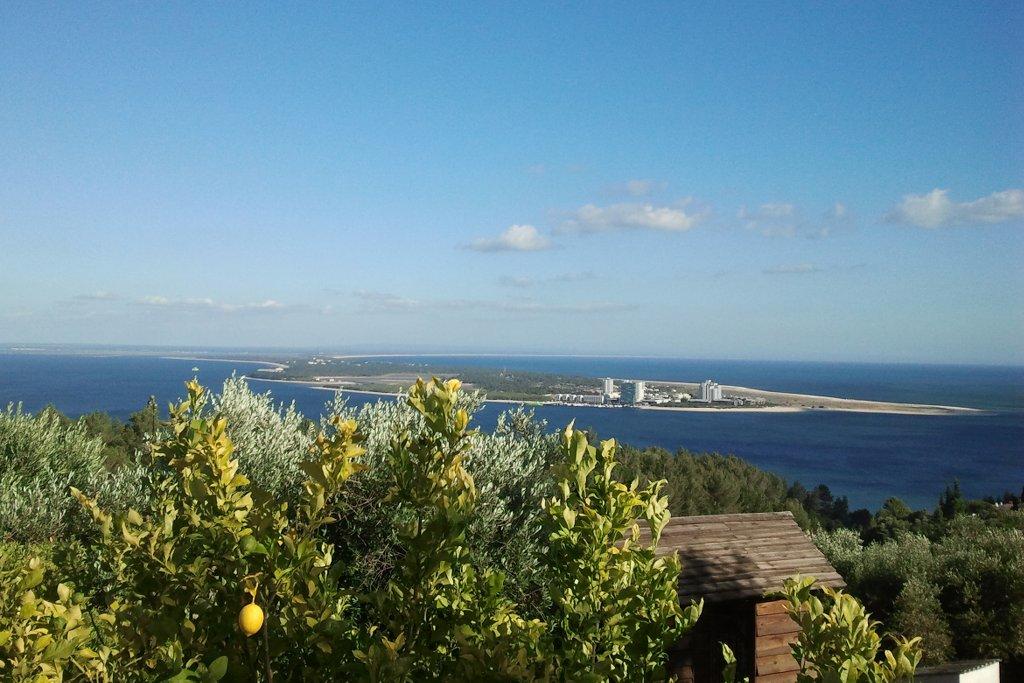 Blick von der Pousada über Setubal.