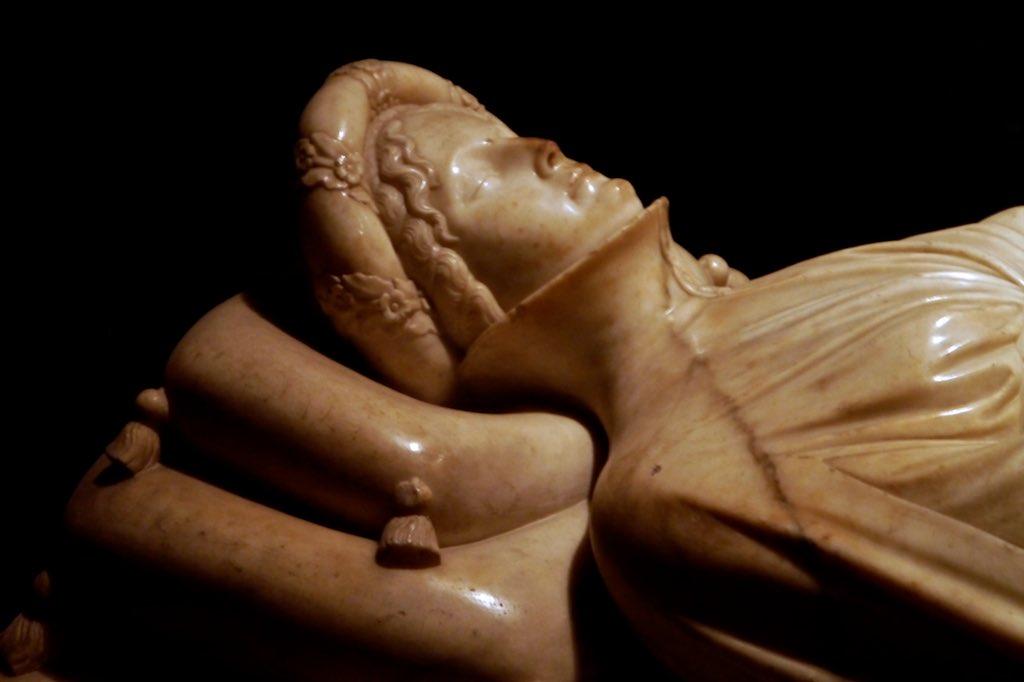 Büste der Ilaria di Caretto im Dom von Lucca