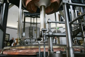 Im Dampfschöpfwerk De Cruquius in Haarlemmermeer in den Niederlanden steht die größte Dampfmaschine, die je konstruiert wurde