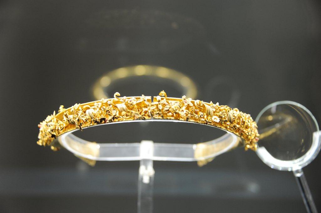 Goldener Kranz aus dem MARTA in Tarent