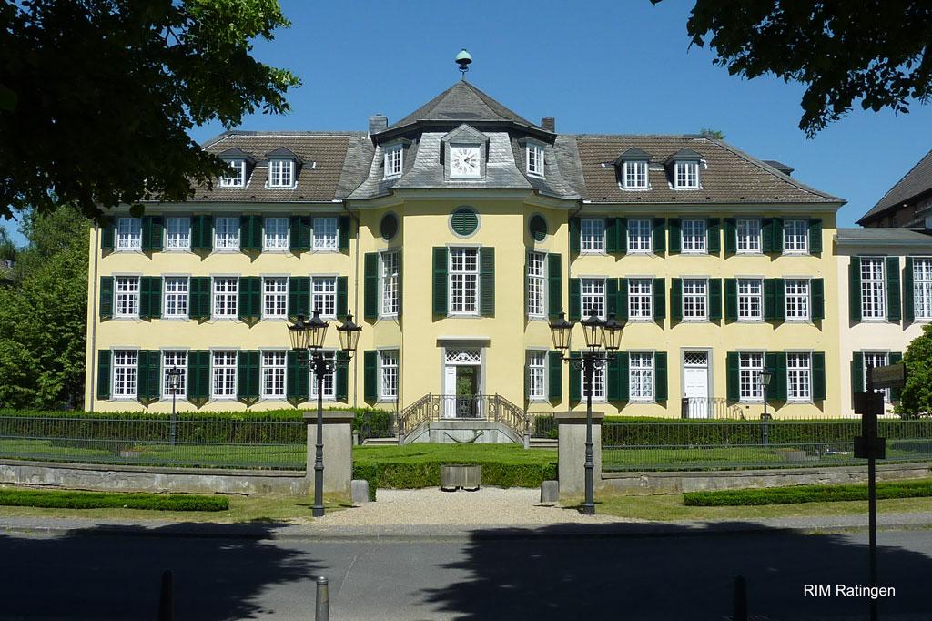 Ratingen Cromford - Das Herrenhaus: Mit schlossartigen Herrenhäusern wie diesem lösen die Industriebarone den alten Adel ab