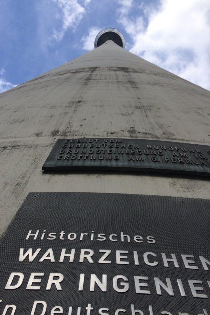 Der Fernsehturm von Stuttgart.