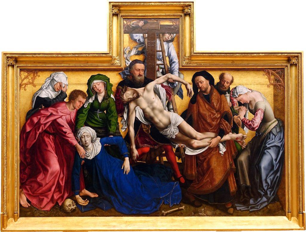 Meisterwerk Rogier van der Weydens im Prado Madrid.