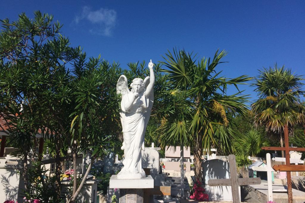 Friedhofs Engel.