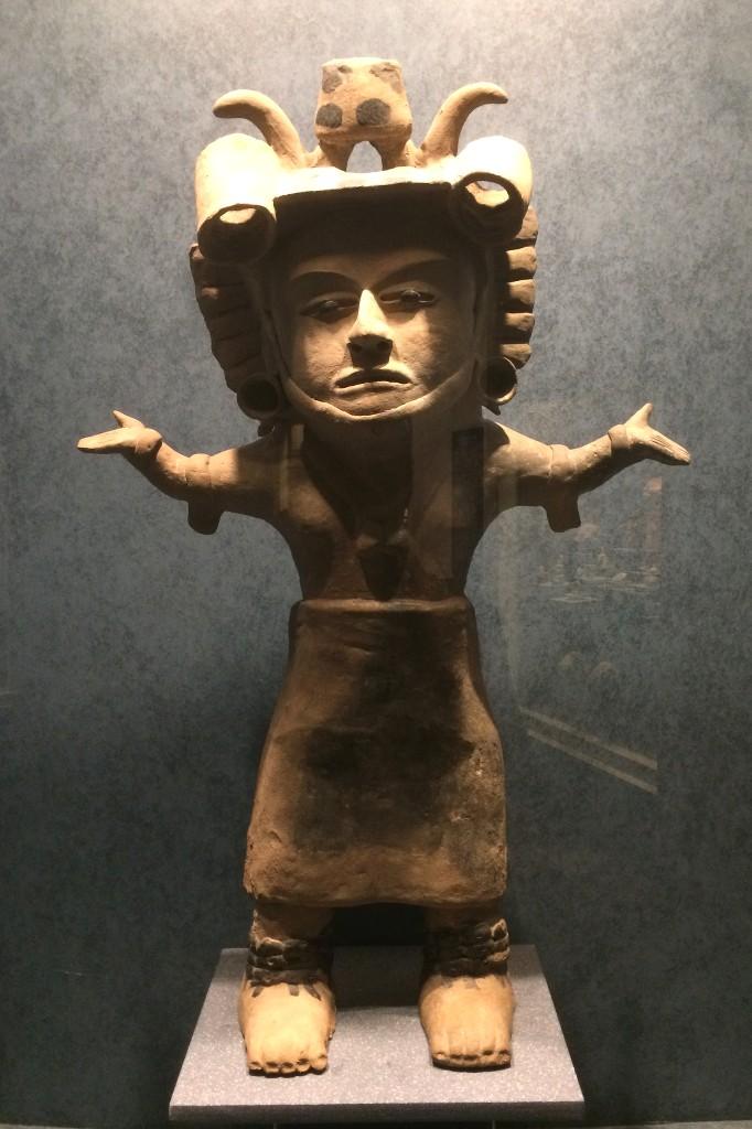 Skulpur im Museo National de Antropolocia.
