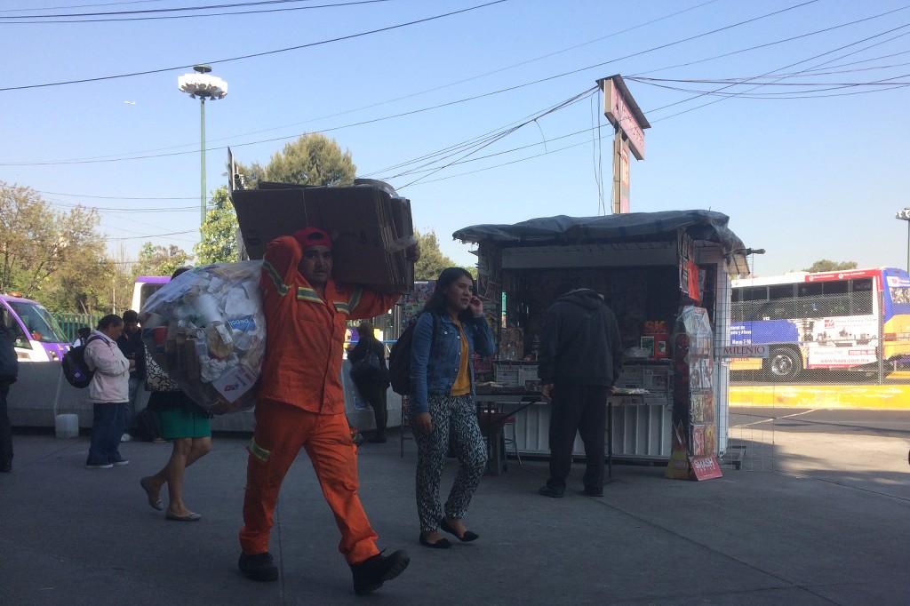 Straßenszene in Hidalgo.