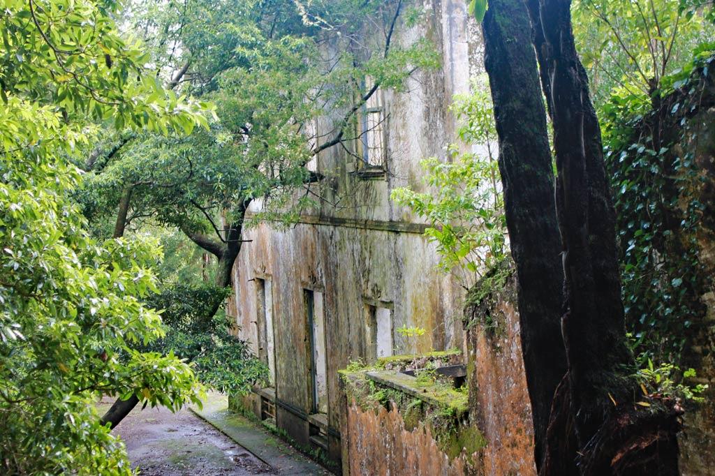 Azoren Paradies: Die Casa da Grená in den Wäldern von Furnas zeigt, wie viel Geld hier einmal verdient wurde – in diesem Fall mit Orangen.