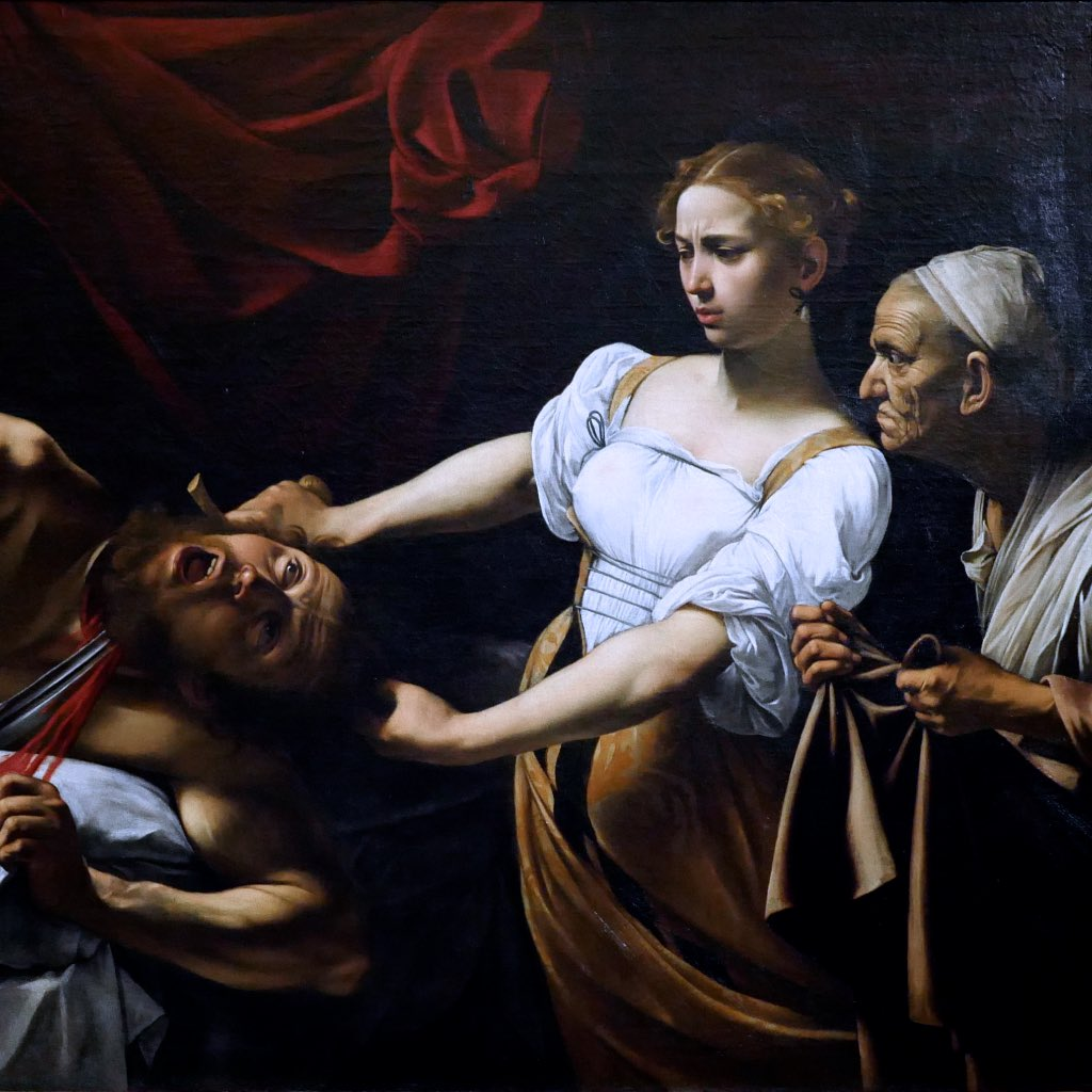 Michelangelo Mersi da Caravaggio in Rom: Judith und Holofernes