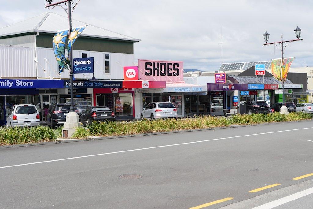 Straßendorf in Neuseeland