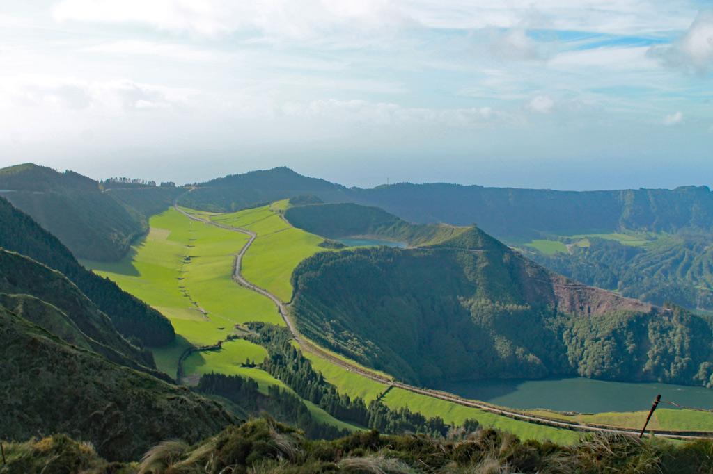 Azoren – im Land der Vulkane: Die Natur baut hier die spektakulärsten Landschaften.