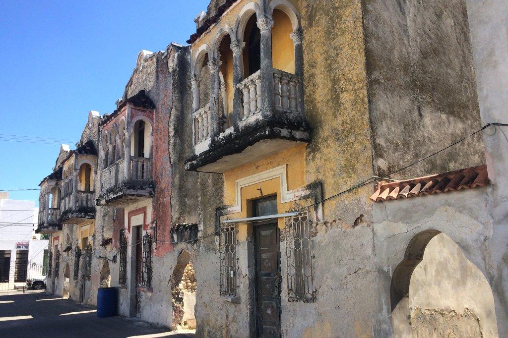Alte Gebäude auf der Paseo Montejo.