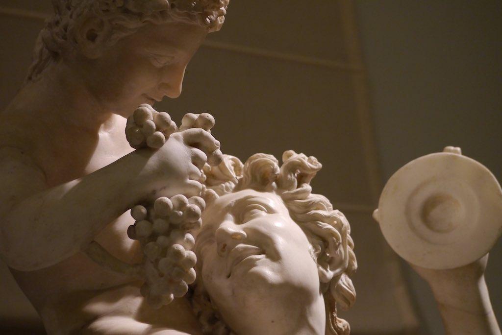 Bacchus und Knabe im Museum sind Neapel Tipps.