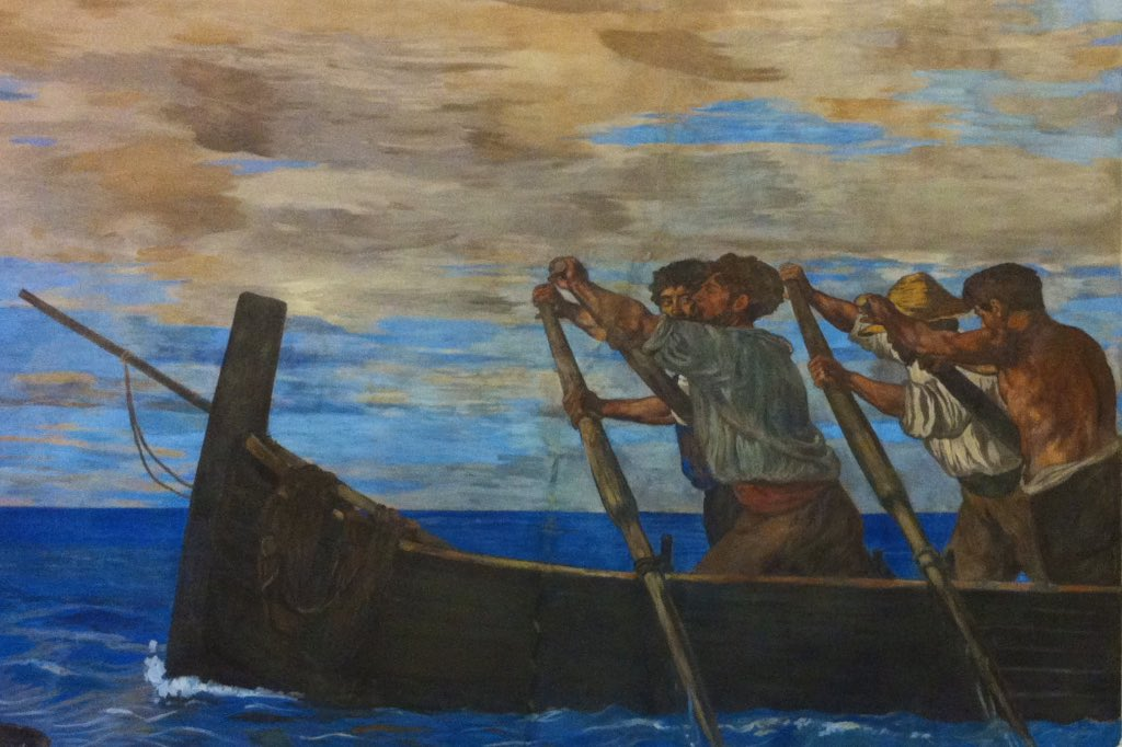 Gemälde von Hans von Marees, ein besonderer Neapel Tipp.