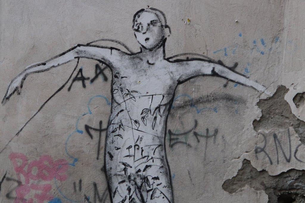 Streetart aus Neapel.