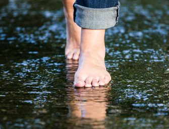 Barfuß in Beelitz: Kurzurlaub für die Füße