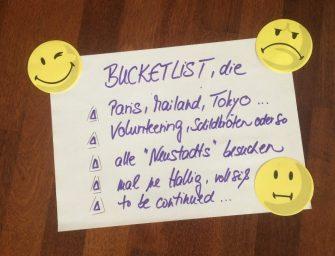 Bucket List, die