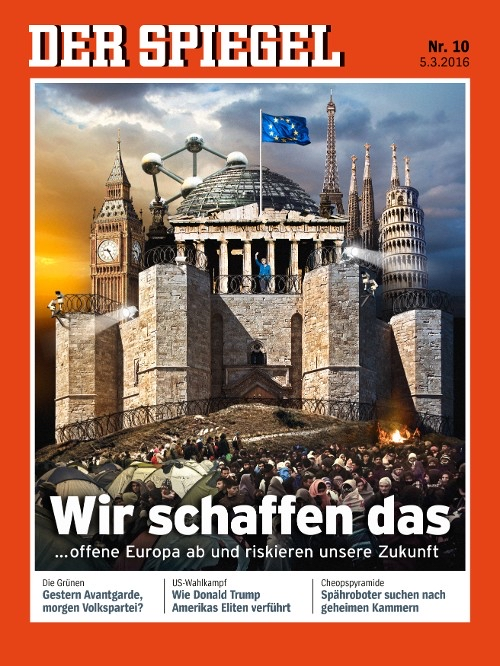 Das Cover des Nachrichtenmagazins Spiegel vom 05.03.2016.