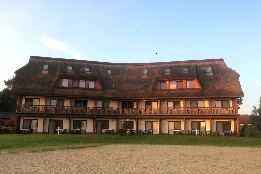 Hotel Haffhus am Stettiner Haff.