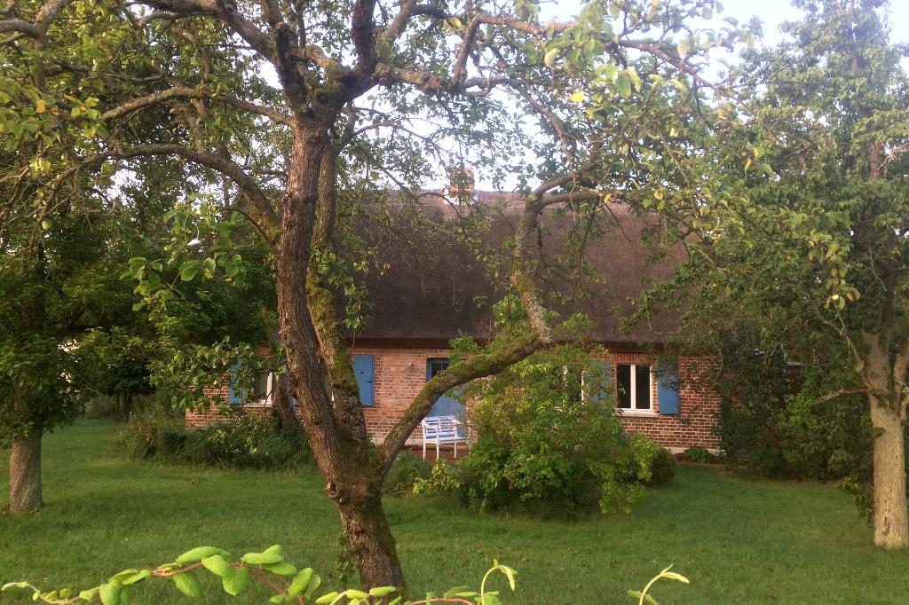 Ferienhaus mit großem Garten.