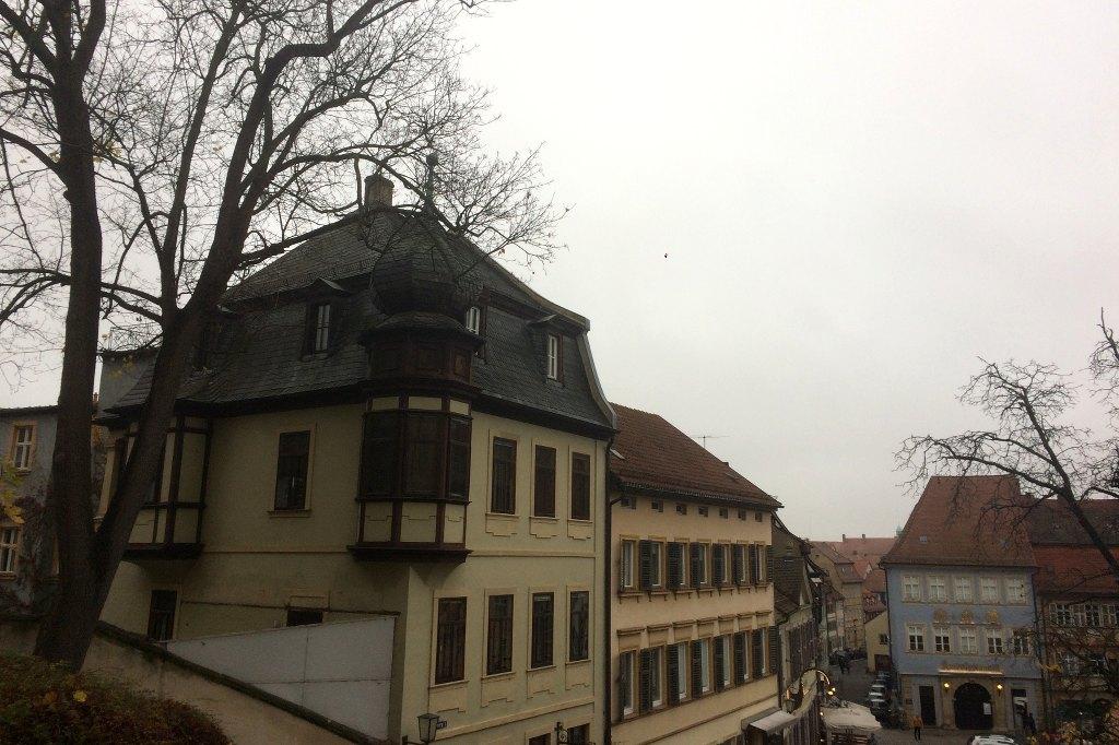 Panorama der Altstadt von Bamberg.