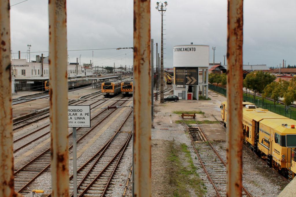 Tagesausflug ins Gestern: Entroncamento und sein Eisenbahnmuseum