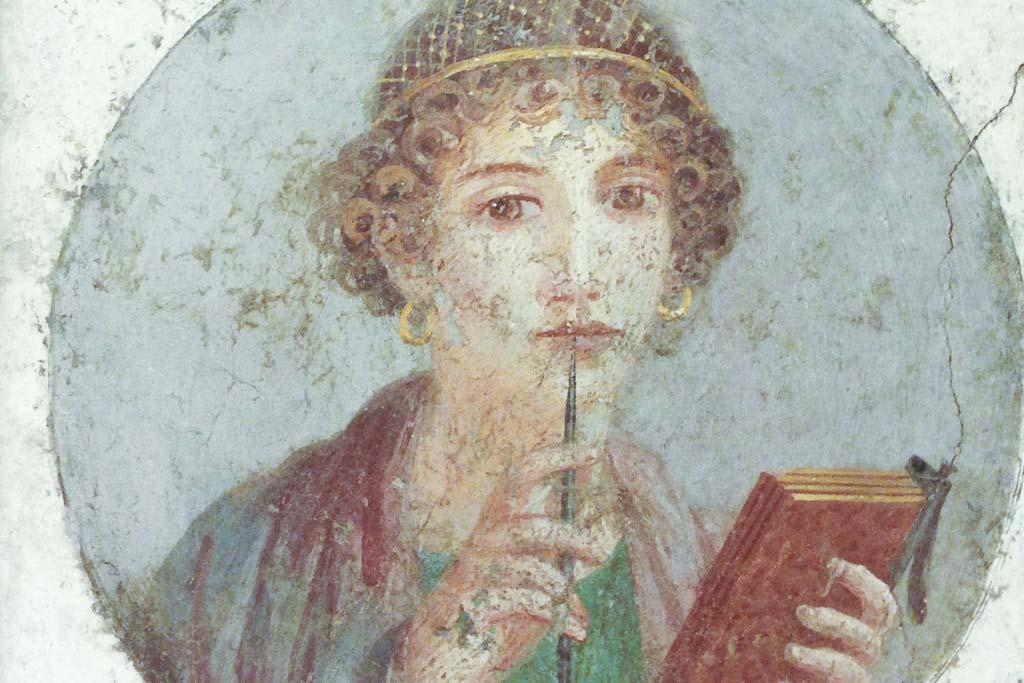 Archäologisches Nationalmuseum Neapel: Fresko.