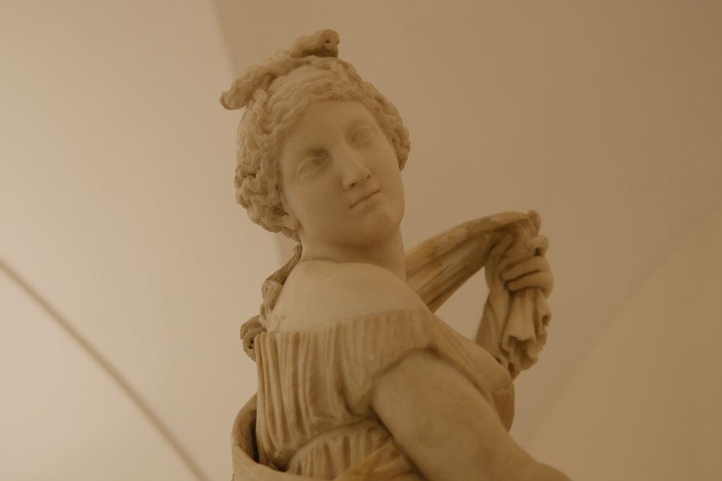 Die Statue der Venus Calipigos, Archäologisches Nationalmuseum Neapel.