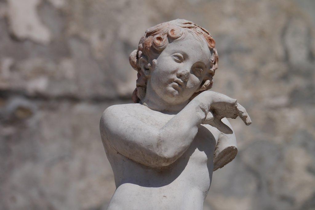 Ausgrabungen von Herculaneum.