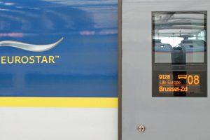 Zugreise nach London: 5 Gründe für den Eurostar - Eurostar-Waggon in Nahaufnahme