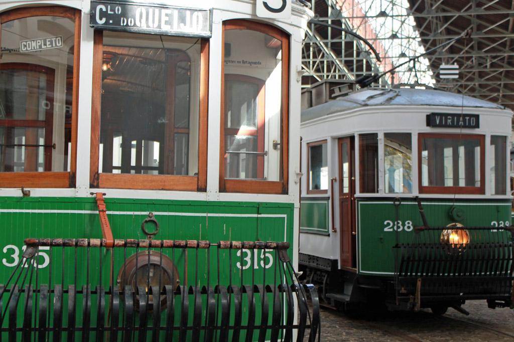 Nachhaltig reisen – ein Masterplan – Historische Straßenbahnen im Straßenbahnmuseum Porto