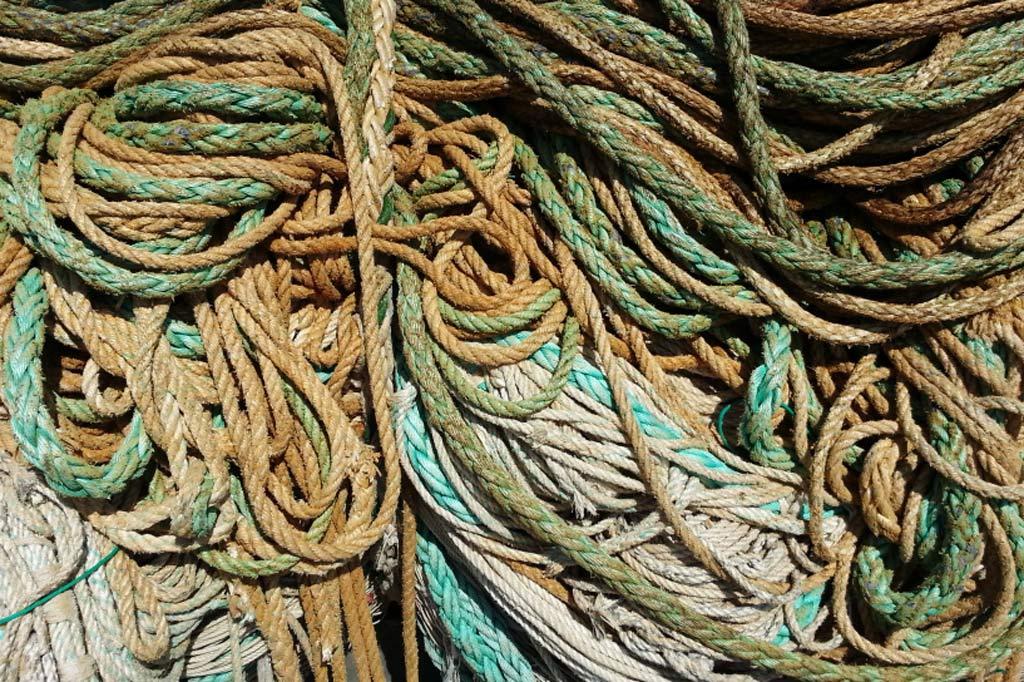 Nachhaltig reisen – ein Masterplan – Ein Wirrwarr von Schiffstauen