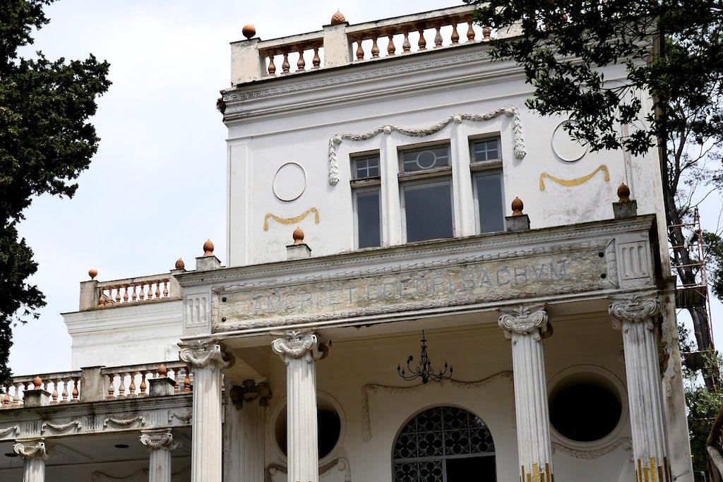 Vorhalle der Villa Lysis auf Capri