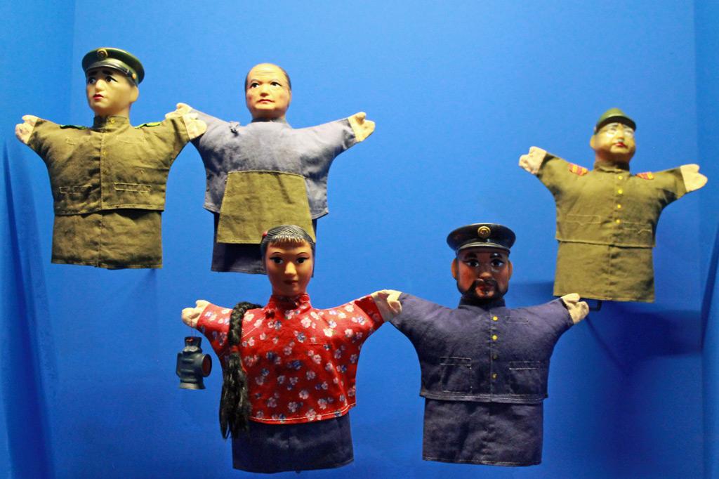 Museu do Oriente: Kulturaustausch in Lissabon: Charaktere der Kulturrevolution als Kasperlepuppen