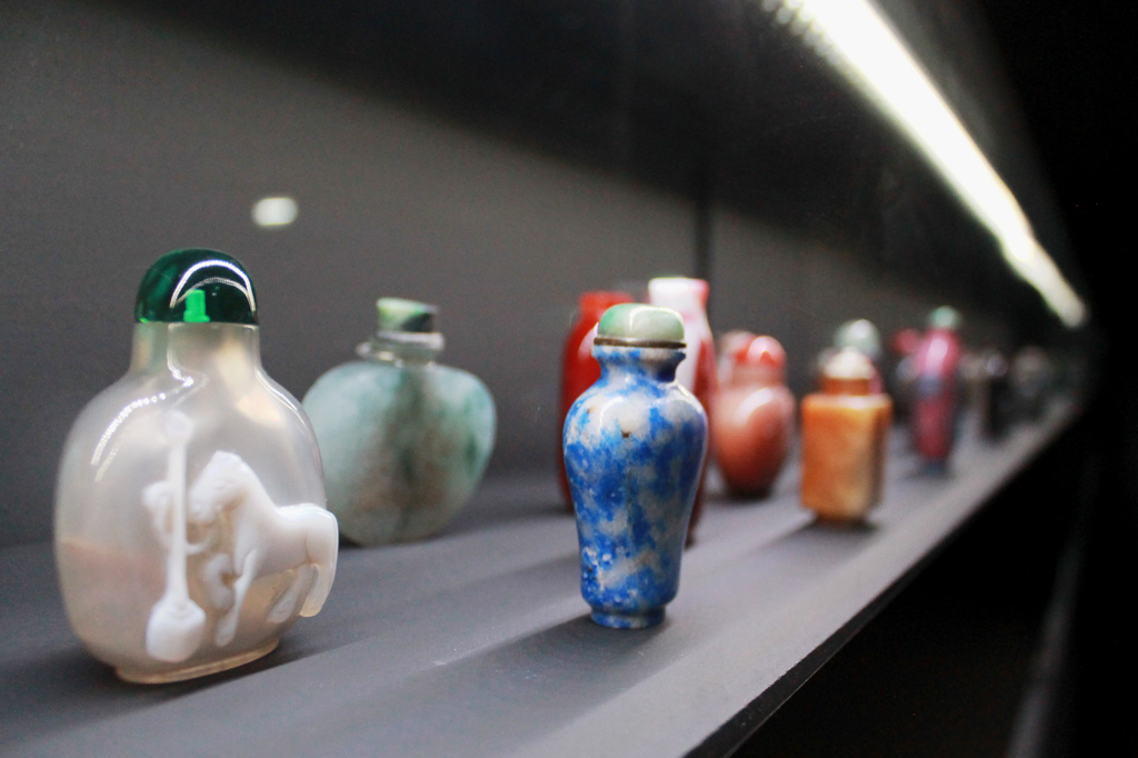 Museu do Oriente: Kulturaustausch in Lissabon: Perspektivischer Blick auf chinesische Schnupftabakdosen